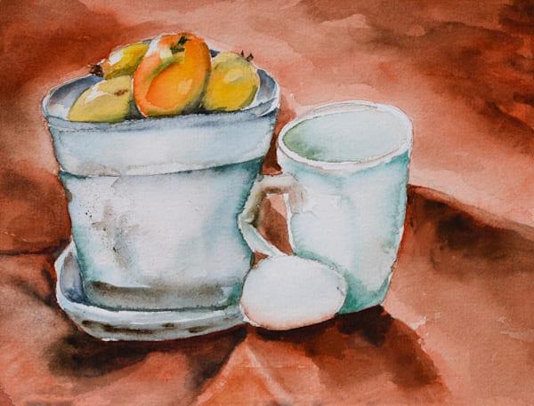 Still Life Fruit And Egg Art   Drivdahl Creations
