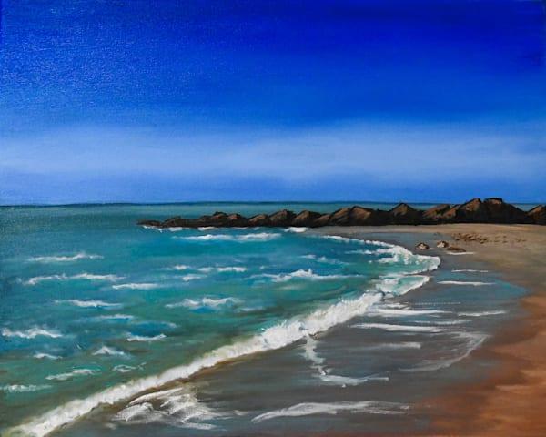 San Leone Beach Art   Drivdahl Creations