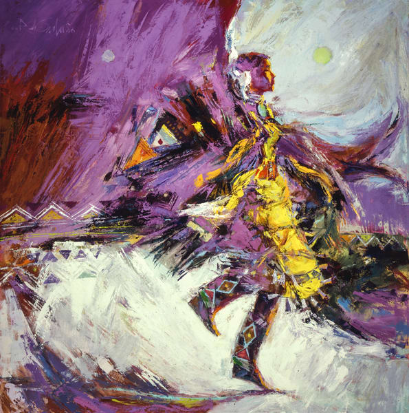 Young Jingle Dancer Art | robertorduno