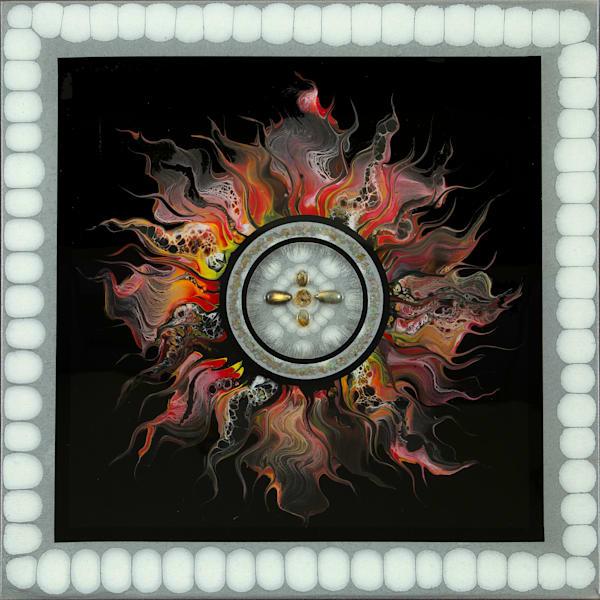 "Fire Element ""Sun Series 2"" Art | Breathe Art Paintings"