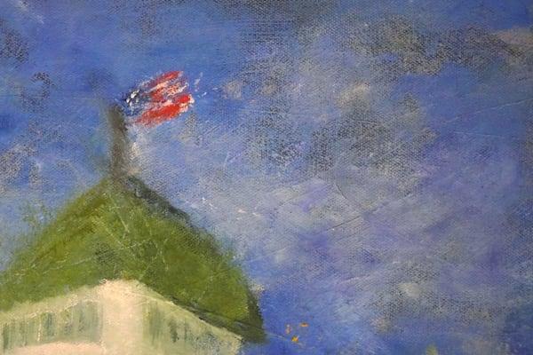 Flag On The Grand Art   S Pominville