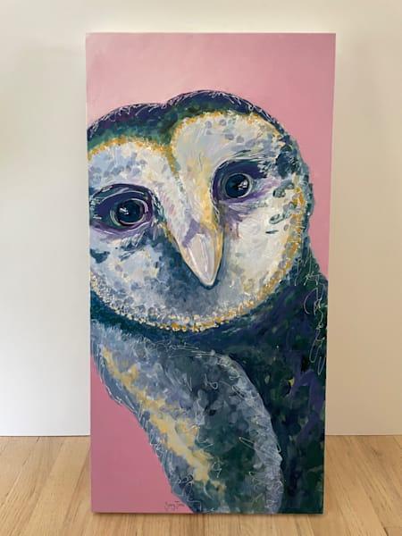 """Harriet, 15x30"""" Original Painting Art   Savy Jane Studios"""