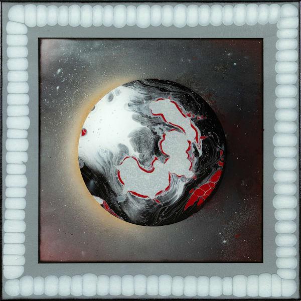 "Chrome Lake ""Planet Series 1"" Art | Breathe Art Paintings"