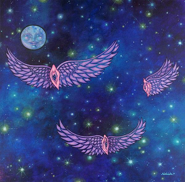 Cosmic Yoni Art