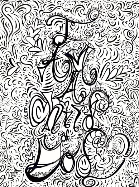 I Am A Child Of God Art | COLORME Art Spa