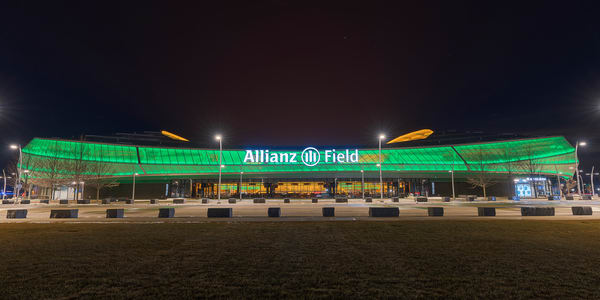 Allianz Field Saint Patrick's Day Photography Art | William Drew Photography