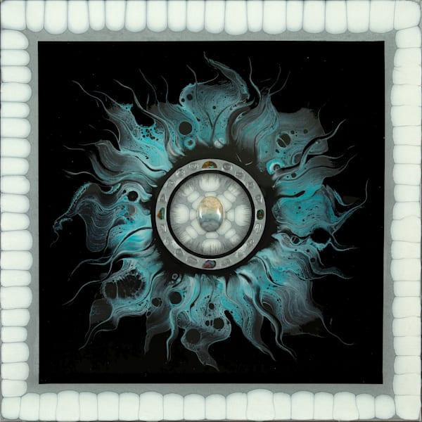 "Wind Elements ""Sun Series 2"" Art   Breathe Art Paintings"