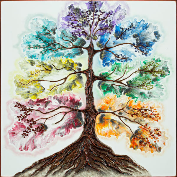 Tree Of Life Art   Breathe Art Paintings