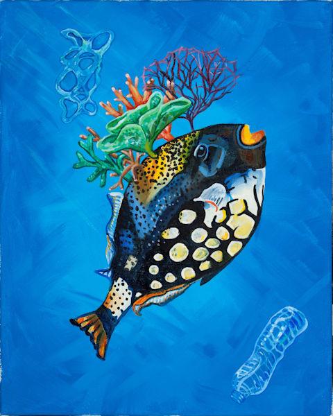 Evolution, Acrylic Painting Art | Sarah E. McCord- Metaphysical Portraitist