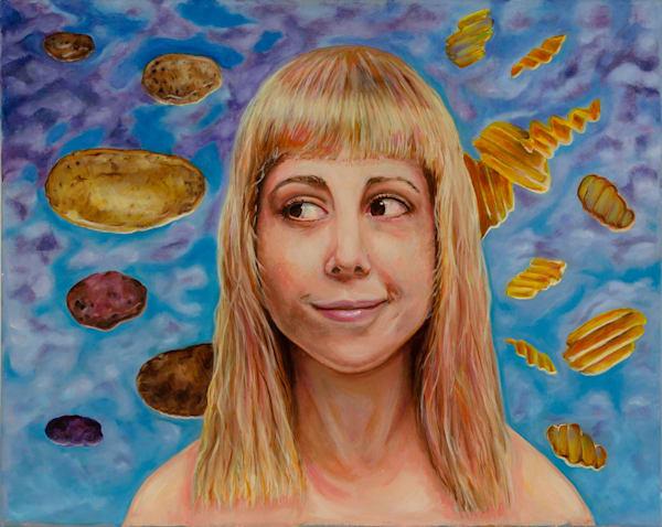 Momento Mori, Oil Painting Art | Sarah E. McCord- Metaphysical Portraitist