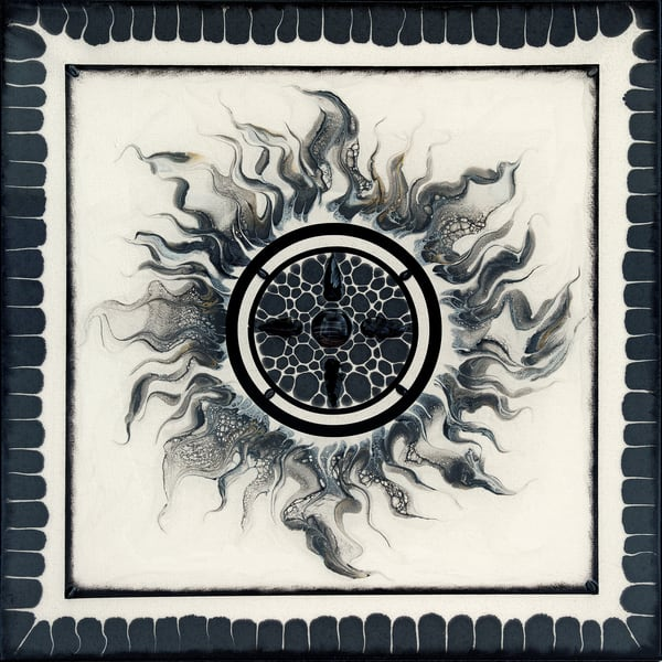 "Earth Element ""Sun Series 1"" Art   Breathe Art Paintings"