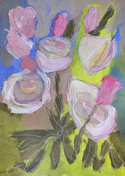 Roses & Tulips Art   Julie Brown Art