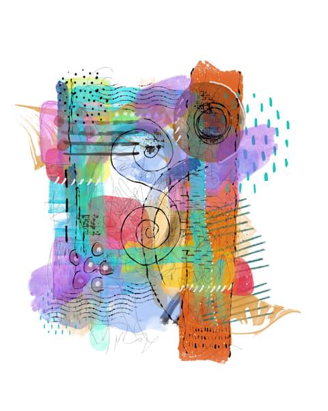 Spring Abstract 1 Art | Lynne Medsker Art & Photography, LLC