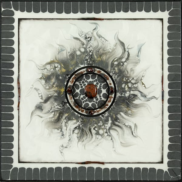 "Earth Element ""Sun Series 2"" Art   Breathe Art Paintings"