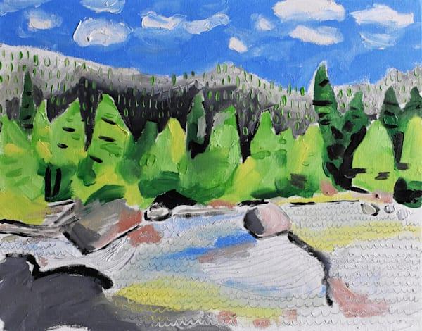 Montana Creek Art | eddie hamilton art