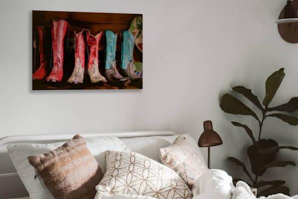 Hand Made Boots Photography Art | Beth Sheridan, Grace Fine Art Photography