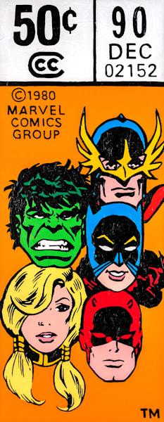 Defenders #90 Print Art   Todd Monk Art