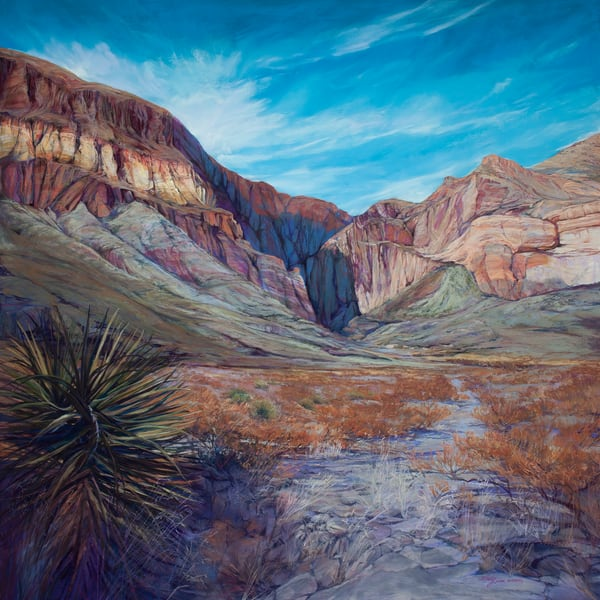 Lindy Cook Severns Art | Shadow Canyon, print