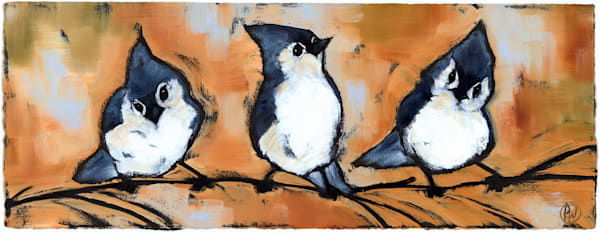 Trio Art | Studio 100 Productions - Paula Wallace Fine Art and Illustration