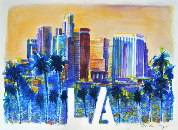 Los Angeles Art | DBA George Delany Art