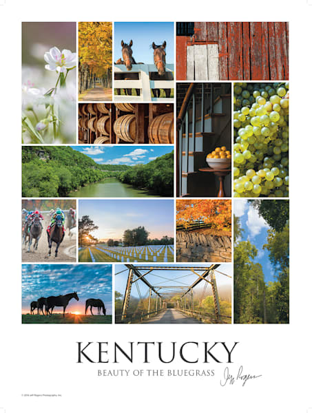 Ky: Beauty Of The Bluegrass Lithograph | Jeff Rogers Photography, Inc.