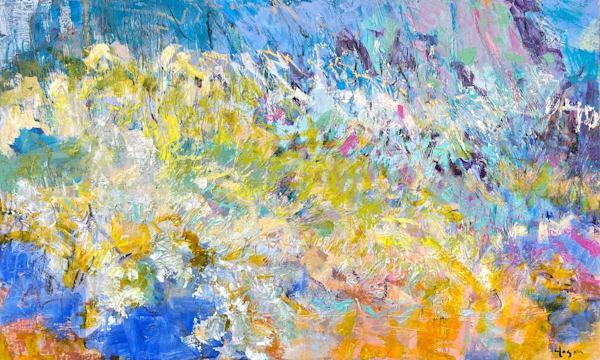 Influx Art | Dorothy Fagan Joy's Garden