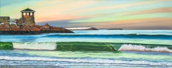 Front Beach Winter Art | The Art of David Arsenault