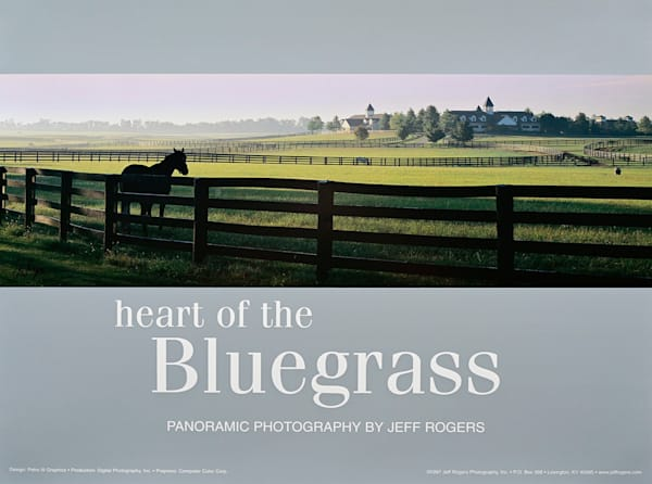 Heart Of The Bluegrass Lithograph | Jeff Rogers Photography, Inc.