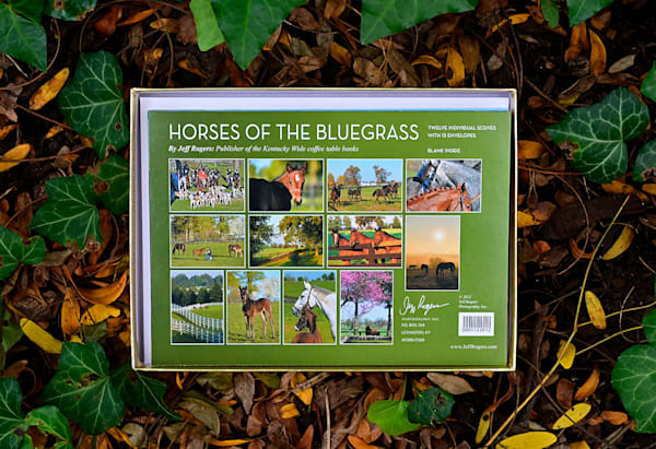 Horses Of The Bluegrass Notecards   Jeff Rogers Photography, Inc.