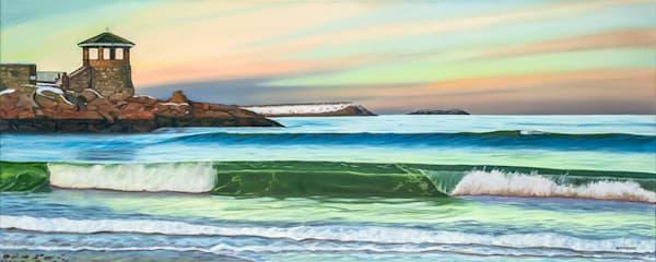 Front Beach Winter | The Art of David Arsenault