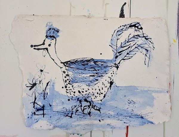 Blue Chicken Art | staciswider