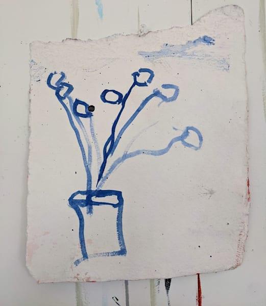 Blue Floral 2 Art | staciswider