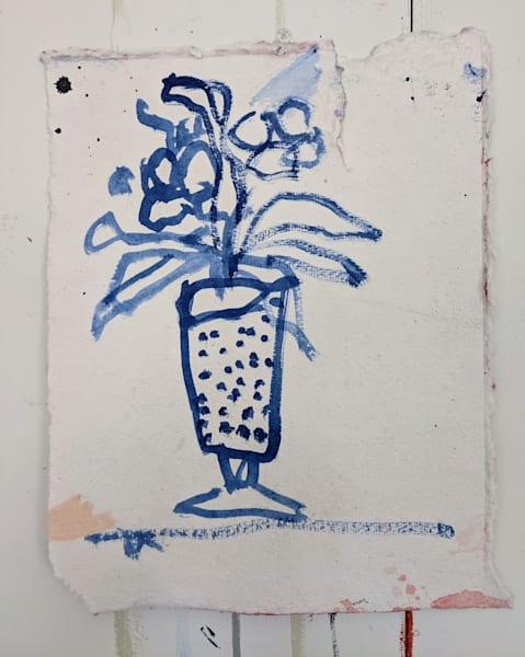 Blue Floral 3 Art | staciswider