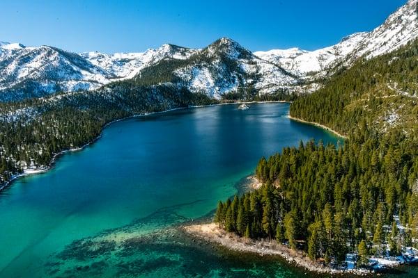Emerald Bay Beauty Photography Art | Great Wildlife Photos, LLC