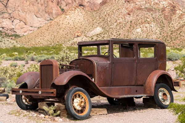 1930 Or 31 Ford Model A  Photography Art | Great Wildlife Photos, LLC
