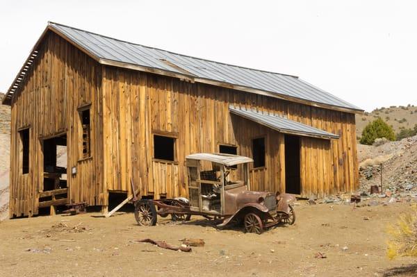 Berlin Mine, Nevada Photography Art | Great Wildlife Photos, LLC
