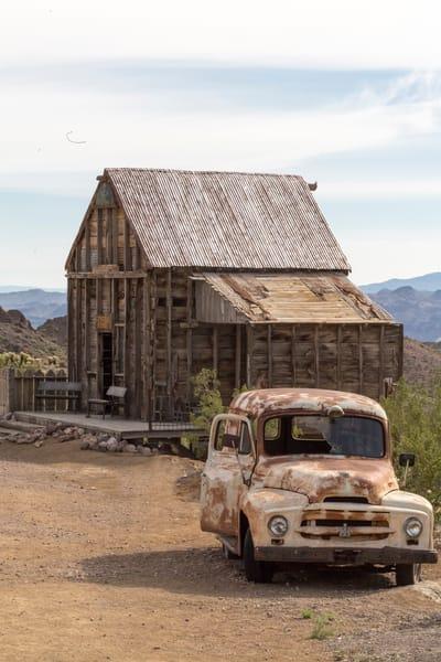 International Harvester And Building  Photography Art | Great Wildlife Photos, LLC