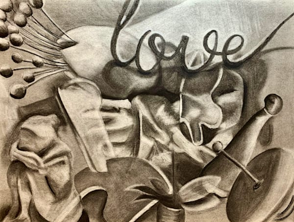Charcoal abstract drawing ucla1 yjhq8c