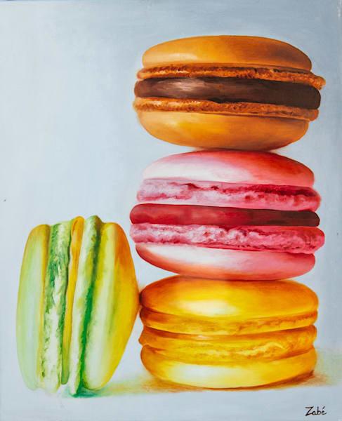Oil painting macarons hptmfu