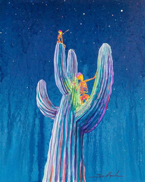 Saguaro Stargazers Art | Danielsartwork
