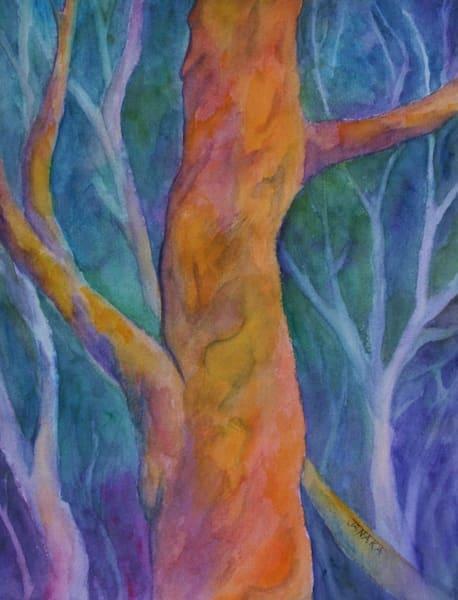 Branches  Original Watercolor Art | janakastagnaro