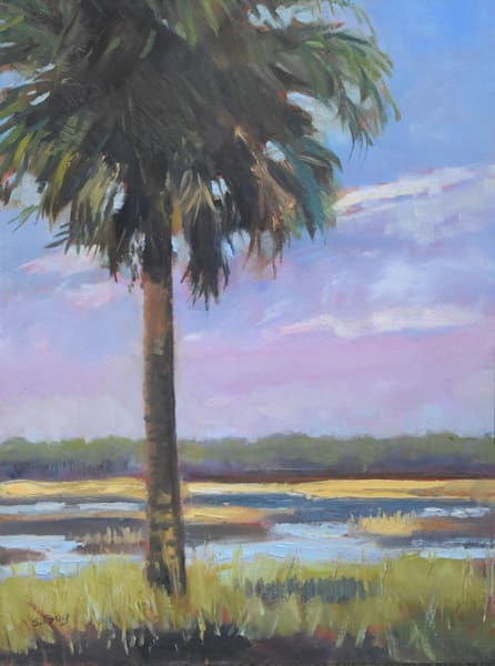 Myakka Palm Art | Sharon Guy