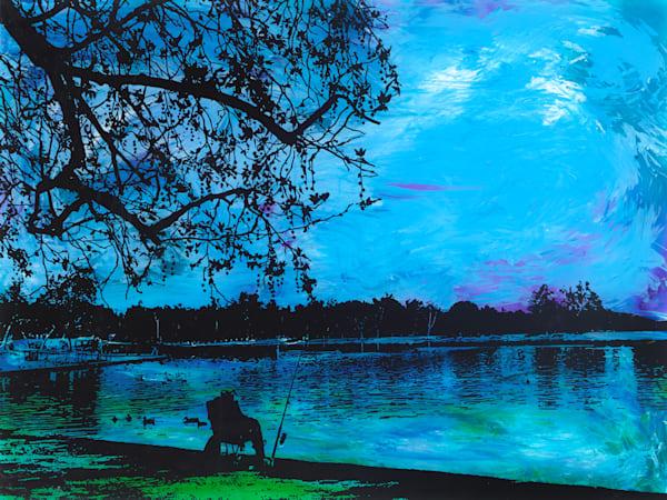 The Fisherman | Beach Art | JD Shultz Art