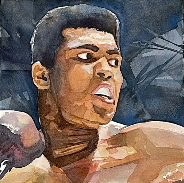 Muhammad Ali   Showing At The Jones Gallery Art   the   danfinnell   studio
