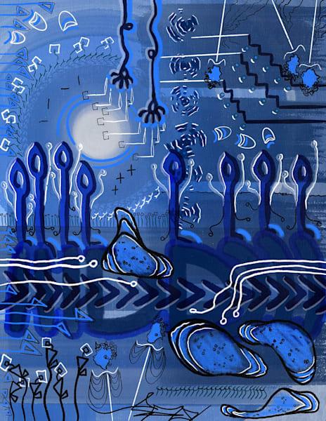 Blue Sky Pie Art | Cincy Artwork