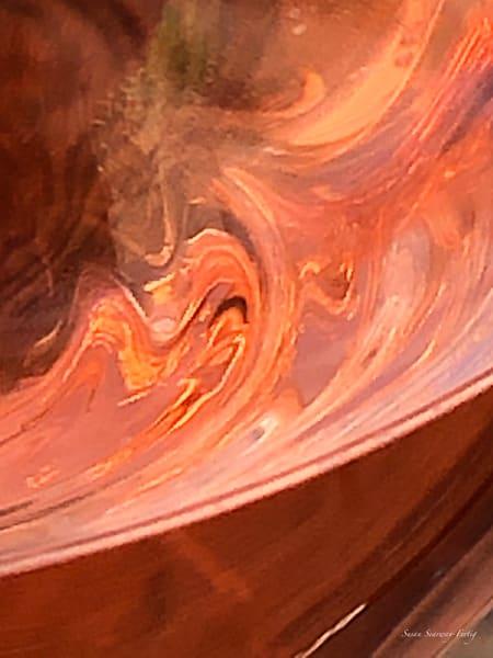 Wine Abstract 25 | Rosé Of Pinot Noir Art | Susan Searway Art & Design