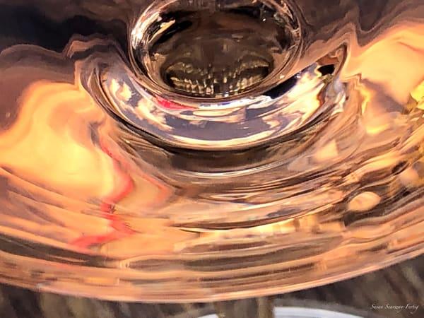 Wine Abstract 8 | Zinfandel Rosé Art | Susan Searway Art & Design