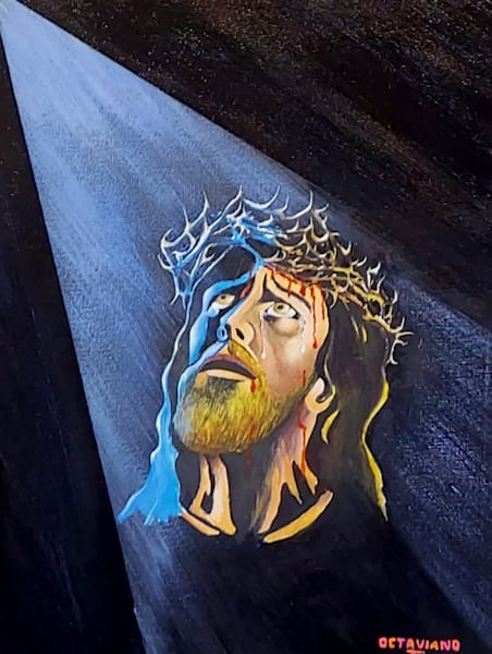 Christ, portrait, original, octaviano