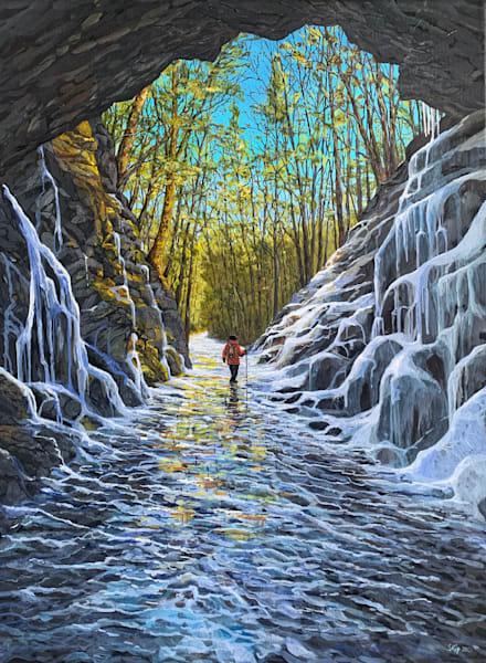 Steep Rock Railroad Tunnel  Art | Skip Marsh Art