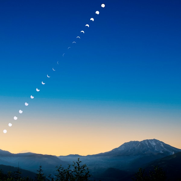 Eclipsing The Mountains Photography Art | Call of the Mountains Photography